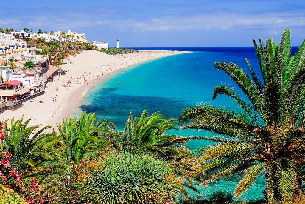 Fuerteventura: Weiße Sandstrände zum Baden, Sonnen, Träumen