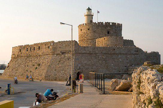 Festung am Hafen