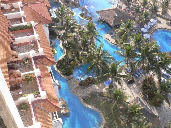 Frühlingsmorgen auf Bali