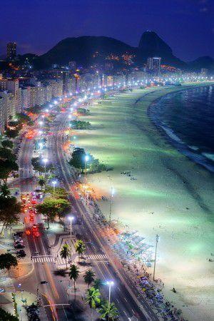 Nachts in Rio