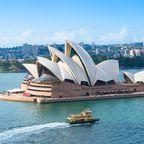 Weltberühmt sind der Hafen von Sydney und das Opernhaus