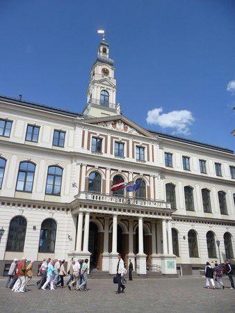 Rathaus in Riga