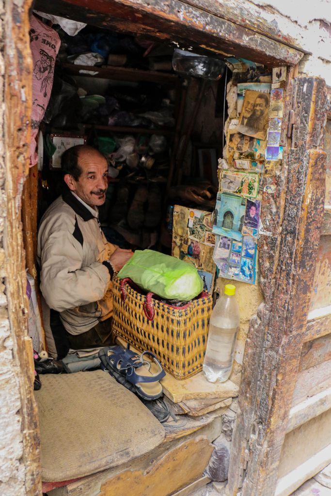 Verkäufer in Fez