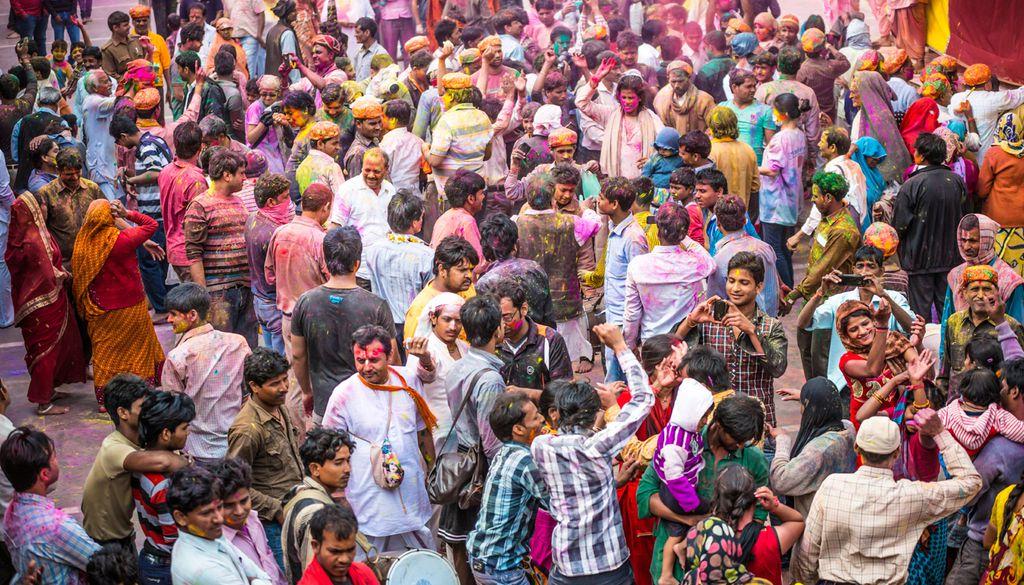Wie alle Feste hat auch das Holi eine vielschichtige Bedeutung