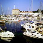 Marina in Zadar, Kroatien