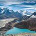 Höchste Höhen und tiefblaue Seen in Nepal