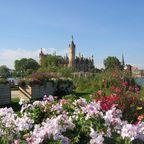 Blick zum Schweriner Schloss