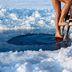 Eisbaden in Schweden: Wenn schon, denn schon