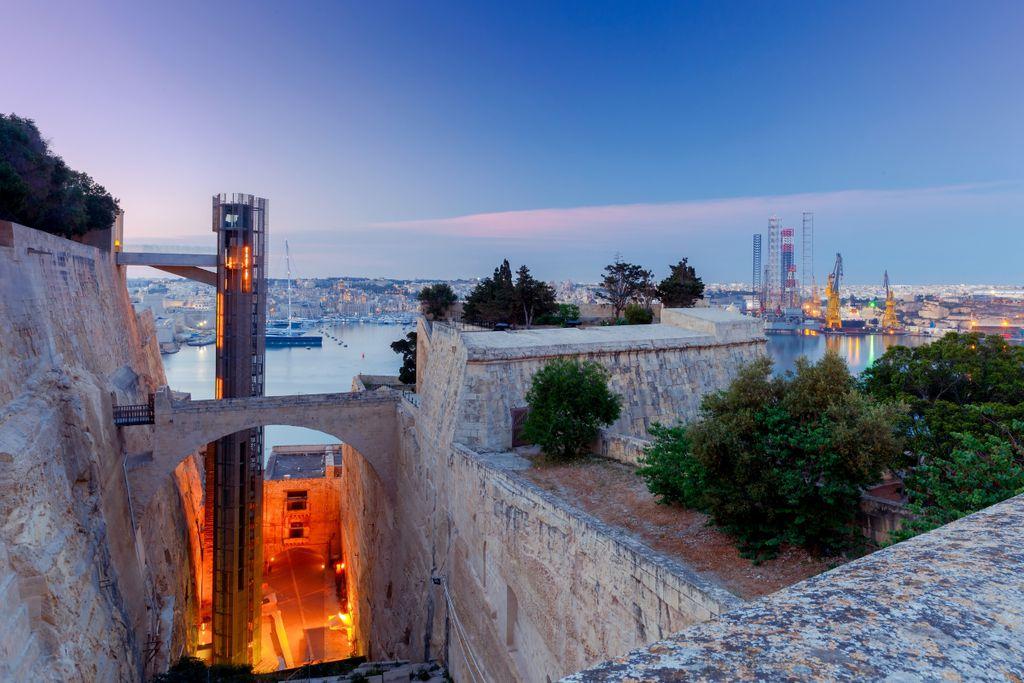 Moderne Architektur in Valletta