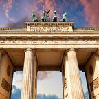 Der 7. Platz geht an das Brandenburger Tor