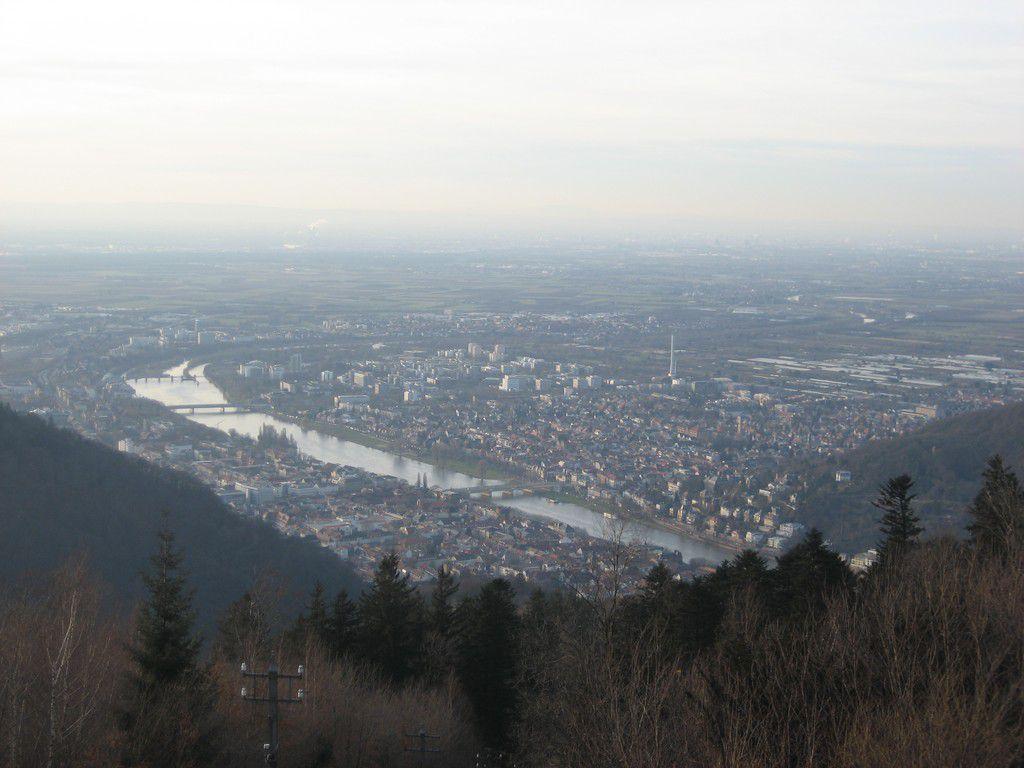 Ausblick vom Königsstuhl