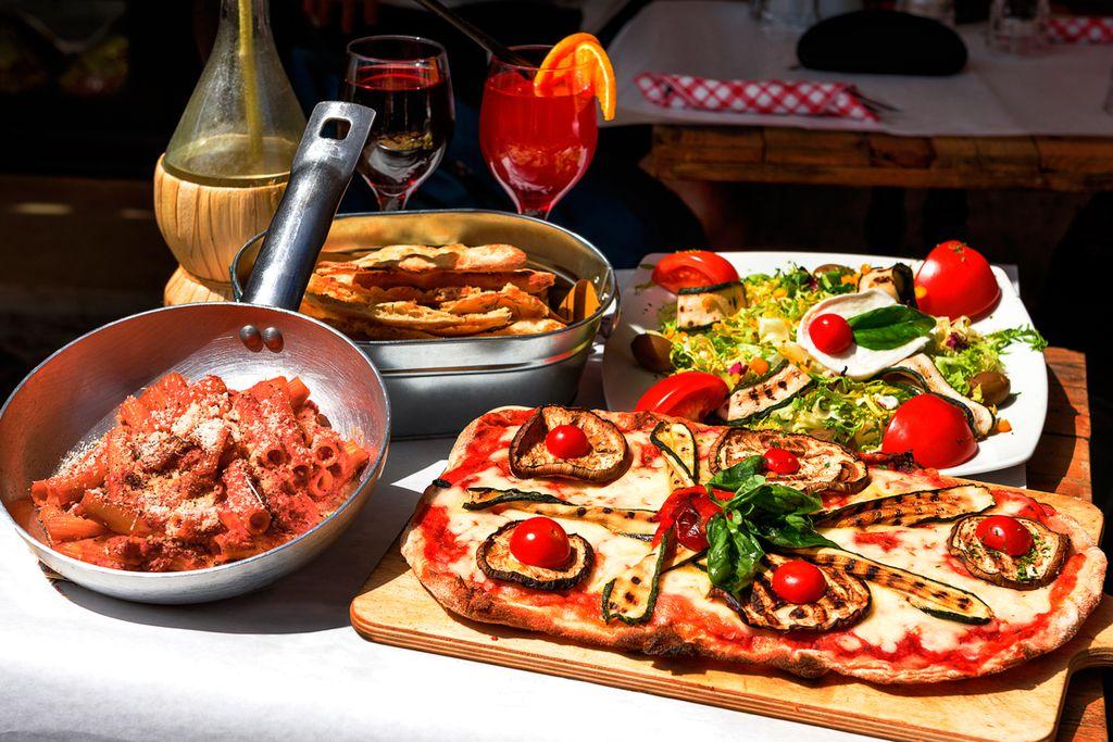 Länger leben mit der Mittelmeer-Diät