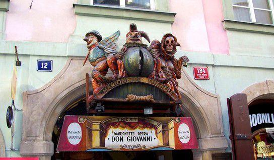 Marionette Museum in der Prager Altstadt