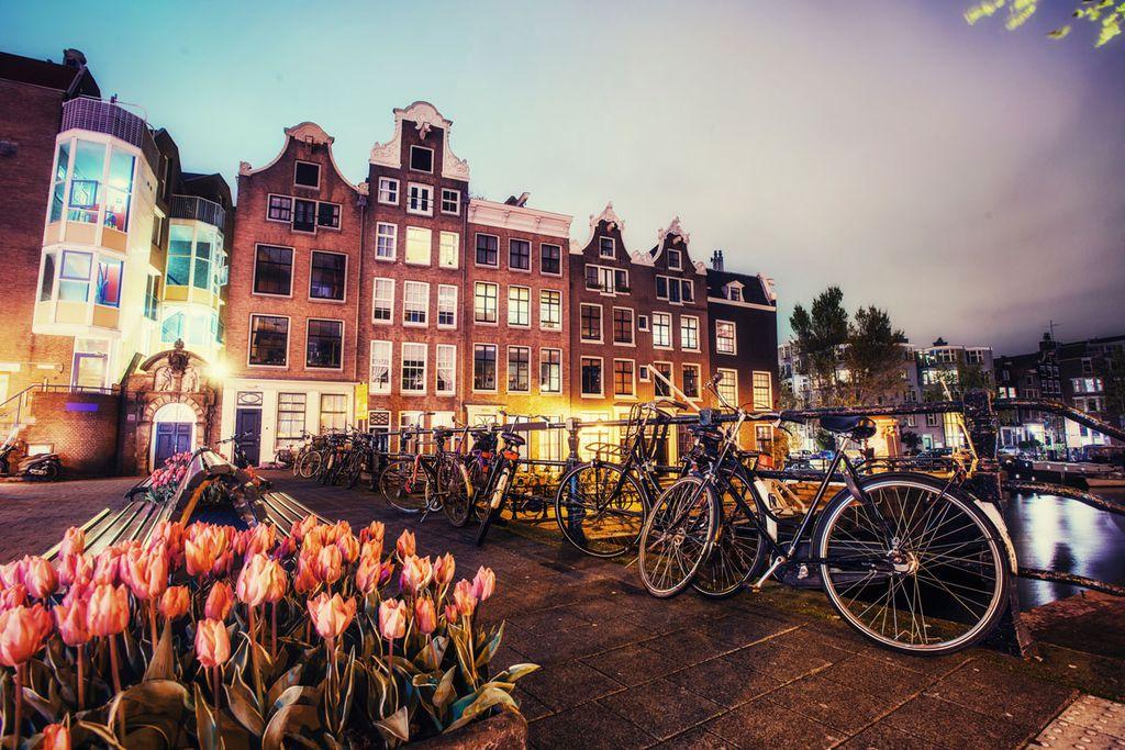 Entspannt unterwegs in Amsterdam