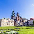 Burganlage Wawel in Krakau