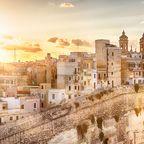 Valletta bei Sonnenaufgang
