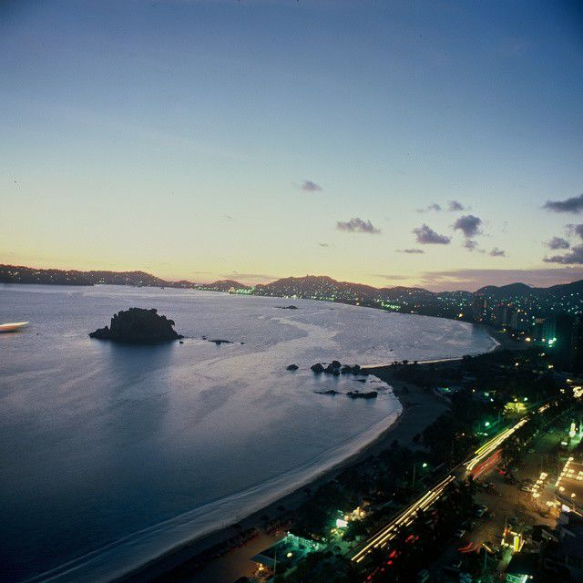 Die Copacabana abends
