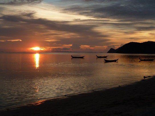 Sonnenuntergang/Abendidylle