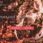 Grillen soll spass machen: Feuer und Steak