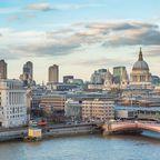 Ausblick über die Dächer Londons mit St. Paul