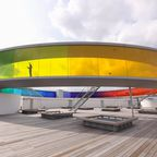 "Blick auf ""Your rainbow panorama"" in Aarhus"