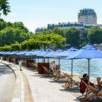 Frühling in Paris: Grand Palais oder Seine-Ufer