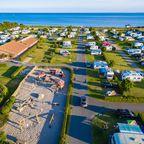 Insel-Camp Fehmarn: Übernachten mit Meerblick