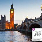 Typ G: Reisestecker für England (UK), Irland, Malta, Zypern, Malaysia, Singapur und Hong Kong