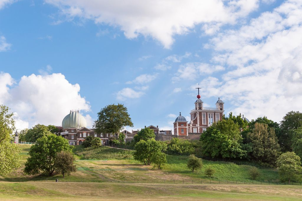 Royal Observatory im Greenwich Park, London