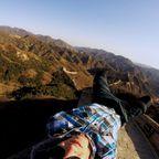 """""""Abhängen"""" auf der Chinesischen Mauer"""