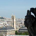 Mit Chimären über den Dächern von Paris 3