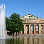 Opernhaus Stuttgart im oberen Schlossgarten