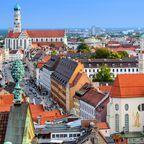 10 größte Städte in Bayern, Platz 3: Augsburg