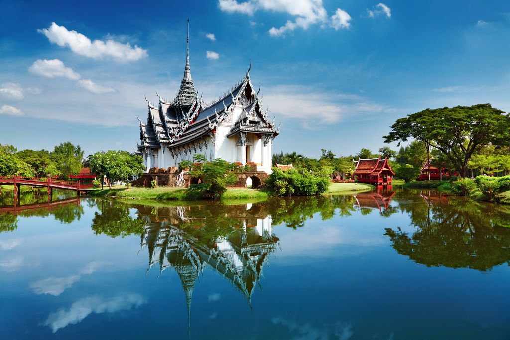 Sanphet Prasat-Pavillon im Wang Luang-Palast