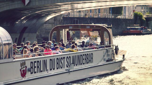 Sightseeing per Schiff in Berlin