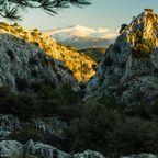 Die Sierra Nevada reicht bis ans Mittelmeer