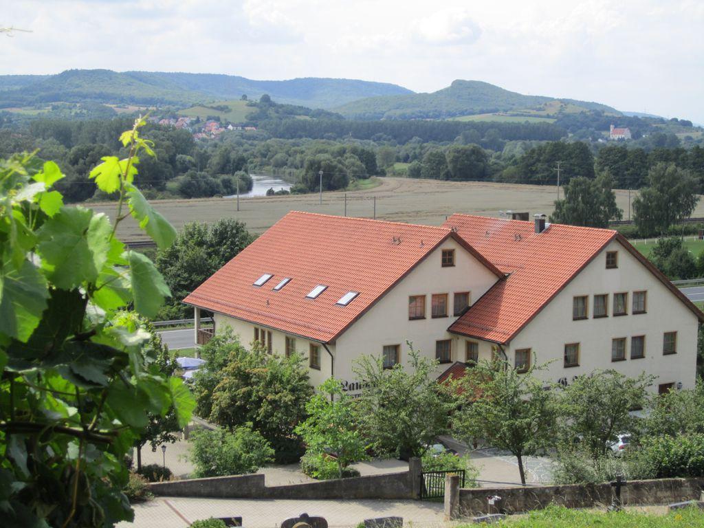 Blick von Gasthaus