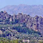 Guadelest das Dorf auf der Bergspitze 2