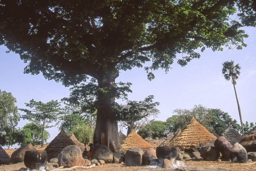 Iwol Dorf in der Region Kédougou