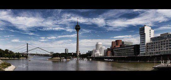 Düsseldorf, Hafen & Rheinturm