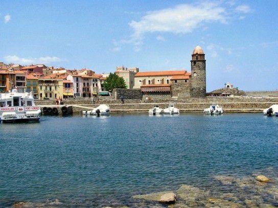 Collioure in Süd Frankreich
