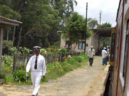 Zugfahrt von Bandarawela nach Kandy
