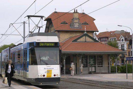 De Lijn, Tramstation De Haan