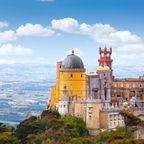 Top 10 Sehenswürdigkeiten in Portugal: Pena Palast in Sintra