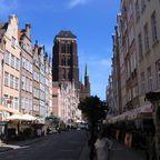 Frauengasse mit Marienkirche