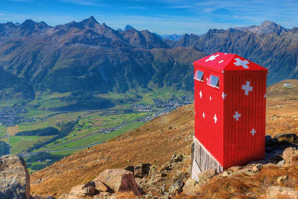 Segantini Hütte, Schweiz