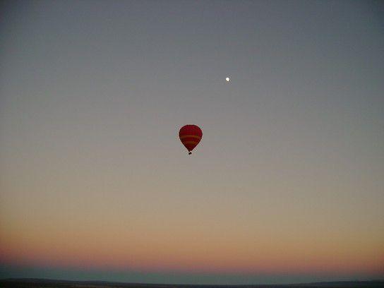Ballonfahrt im australischen Outback