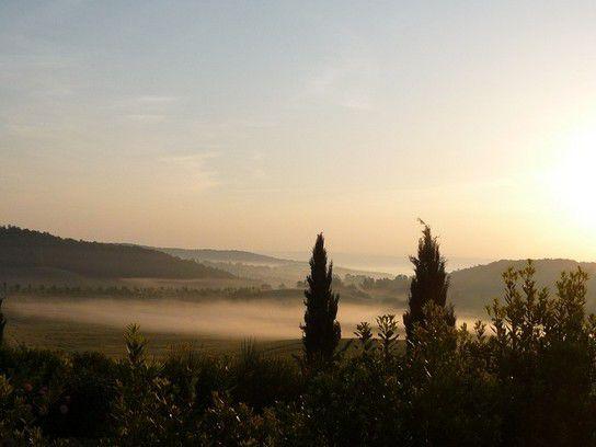 morgens um 5 Uhr in der Toskana