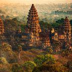 Die imposante Tempelanlage Angkor Wat