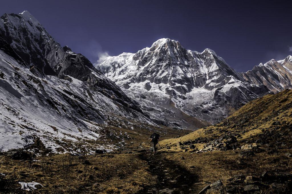 Unterwegs zum Annapurna Sanctuary